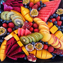 Exotic fruit platter thumbnail