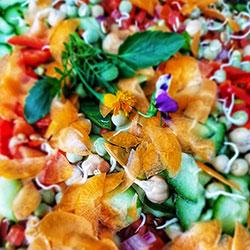 Individual boxed salad meal thumbnail
