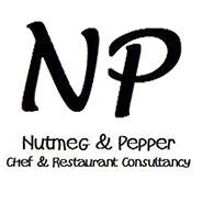 Nutmeg and Pepper logo