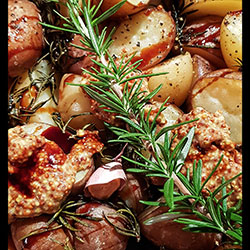 Rustic potato salad thumbnail