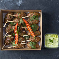 Lamb and chorizo kofte platter thumbnail