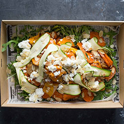 Pumpkin and honey roasted carrot salad thumbnail