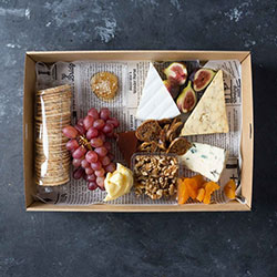 Australian and continental cheese platter thumbnail