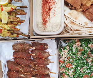 Middle Eastern platter thumbnail