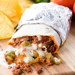 Carlitos spicy beef burritos - 500g thumbnail