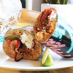 Vegetarian rajas burritos - 500g thumbnail
