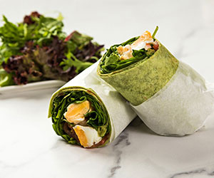 Veggie breakfast wrap thumbnail