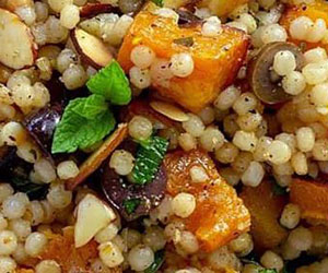 Couscous and roast pumpkin salad thumbnail
