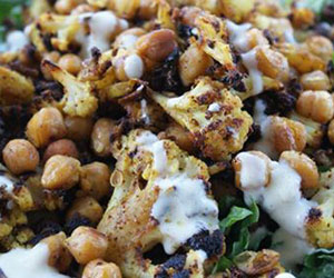 Spiced cauliflower salad thumbnail