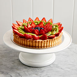 Mixed fresh fruit tart thumbnail