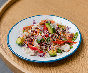 Rainbow chicken salad thumbnail