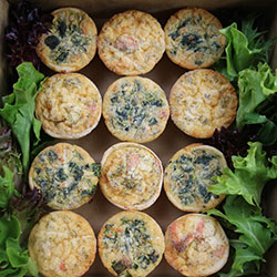 Quiche tartlet - mini thumbnail