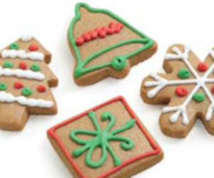 Christmas ginger cookies thumbnail