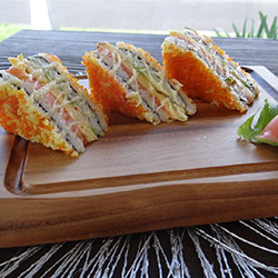 Sushi sandwiches - serves 3 thumbnail