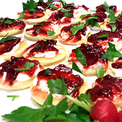 Balsamic beetroot blinis thumbnail