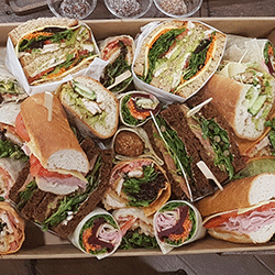 Mixed bread sandwiches and wraps thumbnail