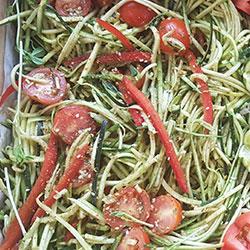 Zucchini salad thumbnail