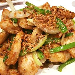 Deep fried spicy pork chop thumbnail