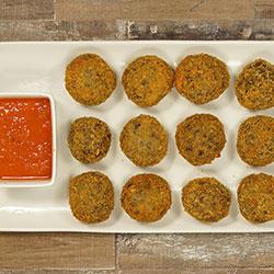 Mushroom and cheese arancini thumbnail