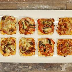 Mini pizzettes thumbnail