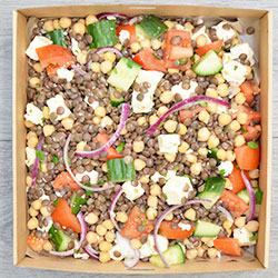 Feta, chickpea and lentil salad thumbnail