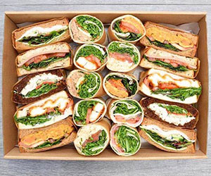 Gourmet sandwiches and wraps collection thumbnail