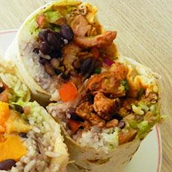 Chicken burrito thumbnail