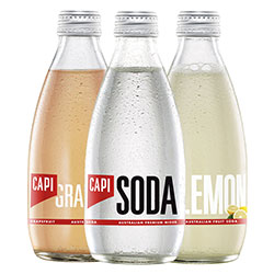 Flavoured sparkling mineral water - 250ml thumbnail
