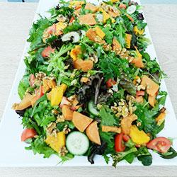 Roast vegetables and quinoa salad thumbnail