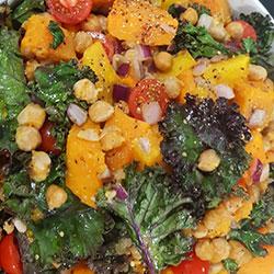 Chickpea pumpkin salad thumbnail
