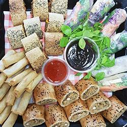Vegan savoury platter thumbnail