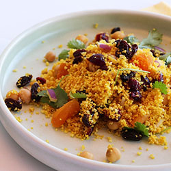 Spiced Moroccan couscous salad thumbnail