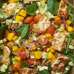 Haloumi salad thumbnail