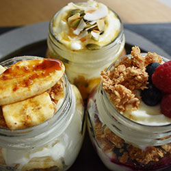 Fruit and yoghurt cups - 250ml thumbnail