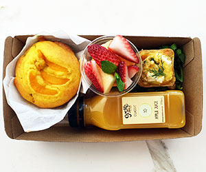 The lighter option breakfast box thumbnail