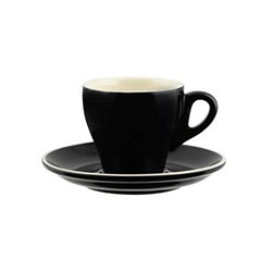 Long black tulip cup - Rockingham - 175ml thumbnail
