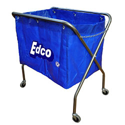 Trolley scissor metal frame - blue bag - EDCO thumbnail