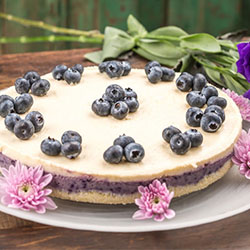 Blueberry and lemon cheesecake thumbnail