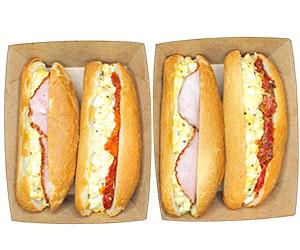 Breakfast baguette thumbnail