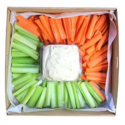 Hummus and veggies thumbnail