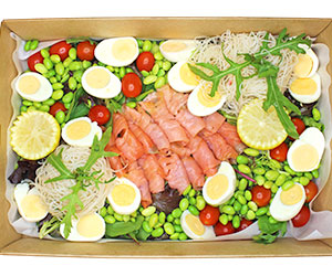 Smoked salmon salad thumbnail