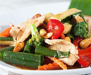 Cashew nut sauce stir fry thumbnail