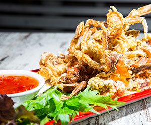 Crispy soft shell crab thumbnail