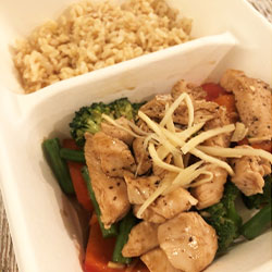 Soy and ginger stir fry thumbnail