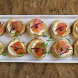 Salmon bruschetta thumbnail