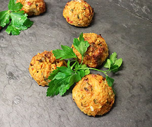 Thai chicken patties - mini thumbnail