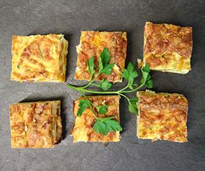 Vegetarian frittata - mini thumbnail
