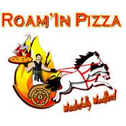 Roamin Pizza logo