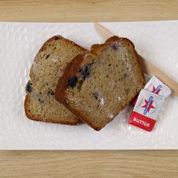 Blueberry and banana bread slice thumbnail
