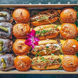 American slider and sub sandwich platter thumbnail